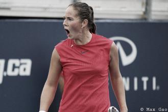 WTA Rogers Cup: Daria Kasatkina ekes out tough win over veteran Roberta Vinci
