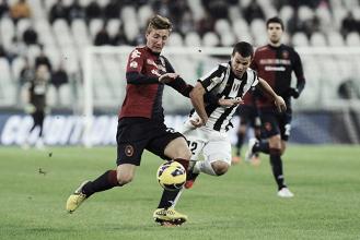 Cagliari, dopo Andreolli ecco l'idea Romagna. Scambio con la Juventus, Del Fabro può volare a Torino