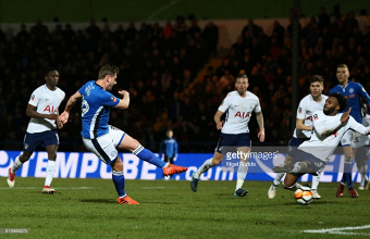 Rochdale 2-2 Tottenham Hotspur: Davies earns Rochdale a trip to Wembley with late equaliser