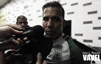 """Dayro Moreno: """"Estoy muy contento porque el equipo cada vez mejora en su juego en su trabajo"""""""