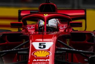 Formula 1 - Gp Azerbaijan: Vettel cala il tris in qualifica, Hamilton è secondo - Twitter Ferrari
