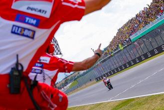 MotoGP, Mugello - La gioia di Dovizioso