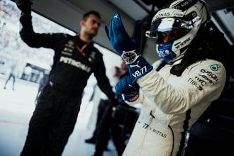 Formula 1 - Gp Spagna: Bottas vola in PL1, Ferrari in attesa - Mercedes Twitter