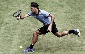 ATP Halle - Federer doma Zverev