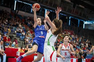 EuroBasket Women 2017 - Buona la prima per l'Italia: le azzurre vincono contro la Bielorussia (80-60)