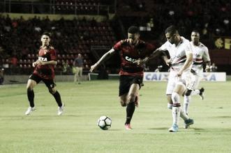 Sport e São Paulo fazem jogo equilibrado e empatam sem gols na Ilha