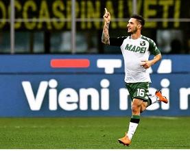 Matteo Politano in azione durante la sua ultima gara della scorsa stagione. | @MPolitano16, Twitter.