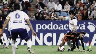 Delmás, el mejor jugador frente a Cultural y Deportiva Leonesa SAD