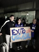 Llega Marcone a México para negociar con Cruz Azul
