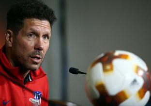 Europa League, la vigilia di Atletico - Marsiglia: la conferenza stampa di Simeone