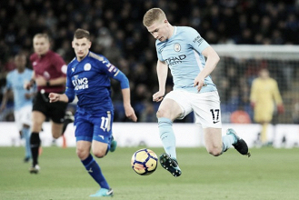 Once ideal jornada 12 de Premier League: De Bruyne y diez más
