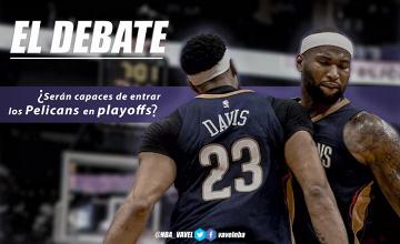 El debate: ¿serán capaces de entrar los Pelicans en playoffs?