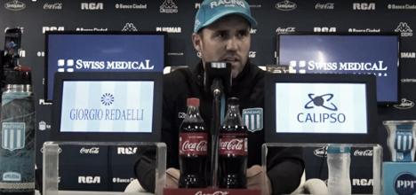 """Coudet, listo para enfrentar a Vasco: """"De ganar nos vamos a 7 puntos"""""""