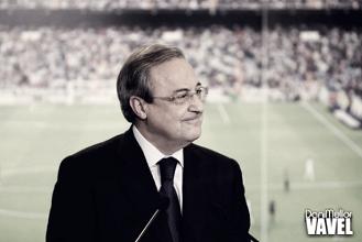 """Florentino Pérez: """"Hay que ayudar a los árbitros"""""""