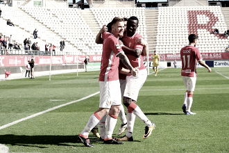 El Real Murcia vuelve al trabajo