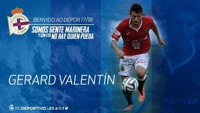 El Deportivo de La Coruña ficha a Gerard Valentín