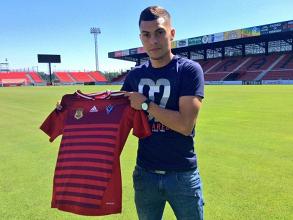 Yanis Rahmani ya viste la camiseta del Mirandés