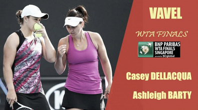 WTA Finals 2017. Casey Dellacqua y Ashleigh Barty: las 'aussies' quieren conquistar Singapur