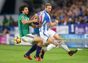 "Laurent Depoitre feels ""reborn"" with Huddersfield Town"