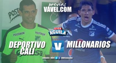 Deportivo Cali – Millonarios: a cerrar el día con el clásico 'añejo'