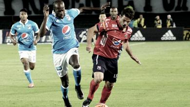 El azul jugó mejor pero empató en Medellín