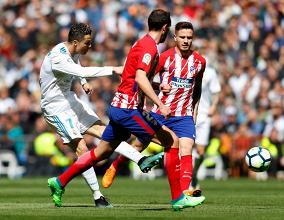 التعادل الايجابي يسود علي ديربي مدريد