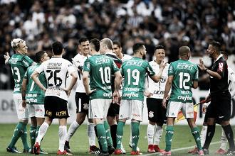 Momentos opostos e 'ausência' de favoritismo marcam primeiro Corinthians e Palmeiras do ano