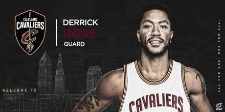 Derrick Rose assina com Cavaliers pelo valor mínimo