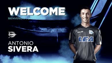 Antonio Sivera nuevo jugador del Alavés