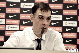 """Bartzokas: """"Hemos logrado una gran victoria ante un equipo muy fuerte"""""""