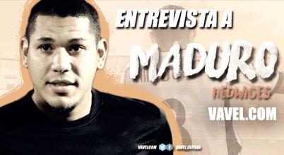 """Entrevista a Maduro: """"El Valencia tiene un gran equipo y va a quedar en puestos Champions gracias a Marcelino"""""""