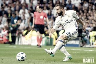 """Carvajal: """"Ojalá pueda estar en el Real Madrid muchos años"""""""