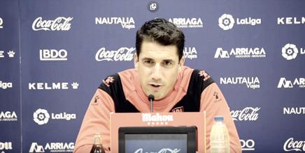 Julio Velázquez: ''El equipo está muy bien, el fútbol nos ha devuelto lo que merecíamos partidos atrás''