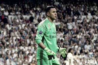 Keylor Navas, elegido el mejor del Real Madrid en La Rosaleda