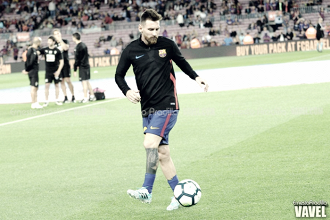 La pizarra: Leo Messi y el marcaje hombre a hombre