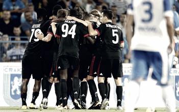 El Milan comienza a funcionar