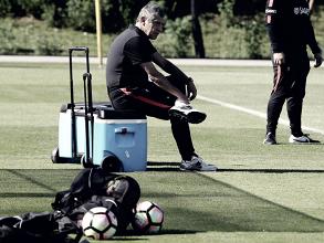 """Fernando Santos molesto: """"No vamos a hablar más de Ronaldo"""""""