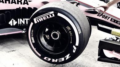 Pirelli presenta los neumáticos para el GP de Rusia