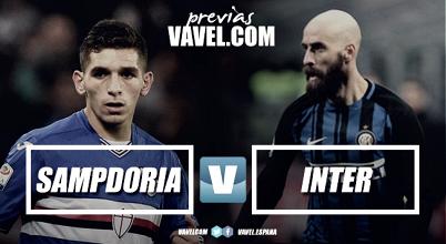 Sampdoria - Inter, corsa all'Europa