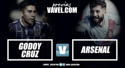 Previa Godoy Cruz vs Arsenal: estirar su buen momento para escalar a puestos de Libertadores