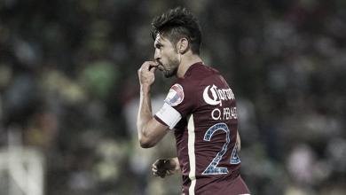 Oribe Peralta más enfocado en la clasificación que en el liderato de goleo