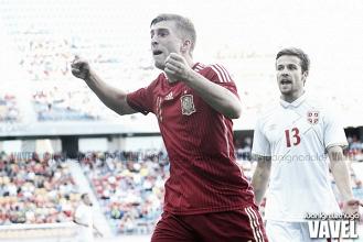 Resumen Serbia vs España Europeo sub-21 2017 (0-1): todos cumplen