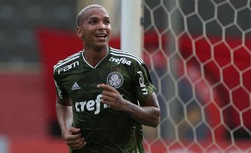 """Deyverson comemora bom momento com gols pelo Palmeiras: """"Me dá confiança"""""""