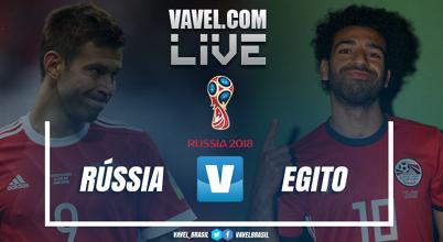 Jogo Rússia x Egito AO VIVO online pela Copa do Mundo 2018 (0-0)