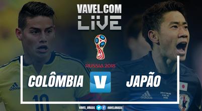 Jogo Colômbia x Japão AO VIVO online pela Copa do Mundo 2018 (0-0)
