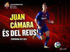 Juan Cámara, el octavo fichaje del CF Reus