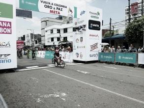 Nelson Soto gana la tercera etapa de la Vuelta a Colombia