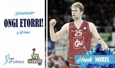 Henk Norel experiencia para el Gipuzkoa Basket