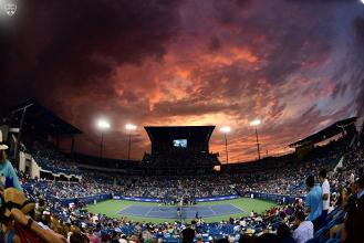 WTA Cincinnati, il programma: Muguruza - Kuznetsova e Konta - Halep sul Centrale, da definire gli altri quarti