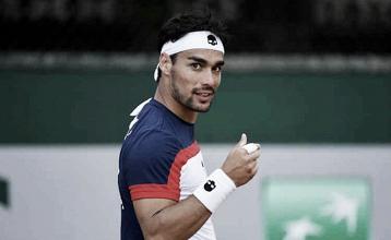 ATP Cincinnati - Fognini vince un match eccentrico, K.O. Medvedev